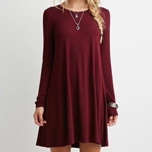 Dresses - Red cotton dress